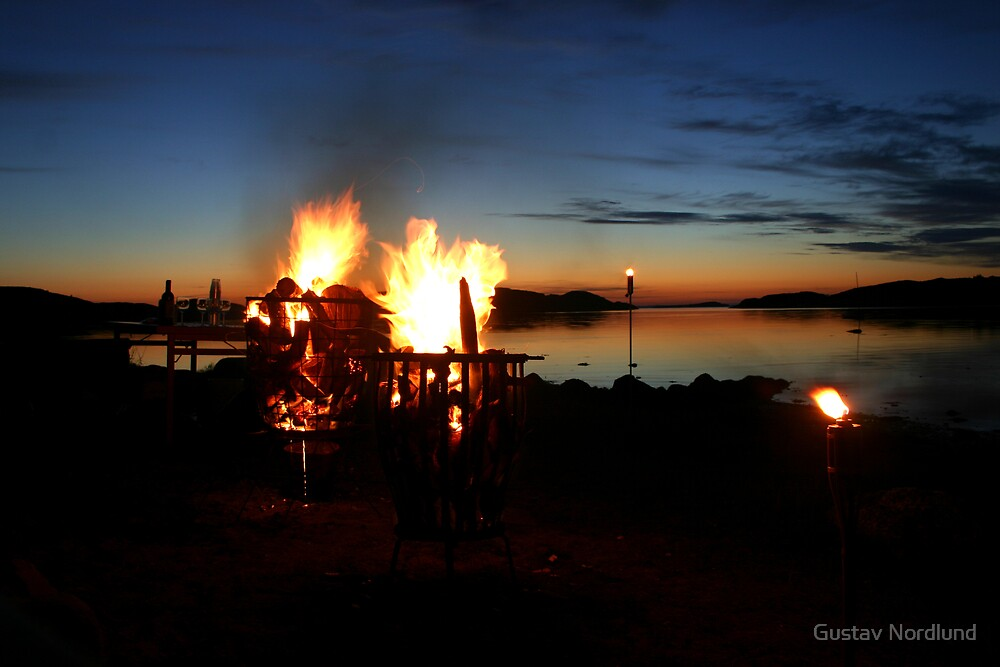 Midnight Fires by Gustav Nordlund