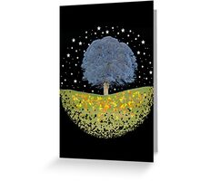 Starry Night Sky Greeting Card