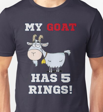 Brady is the GOAT Unisex T-Shirt