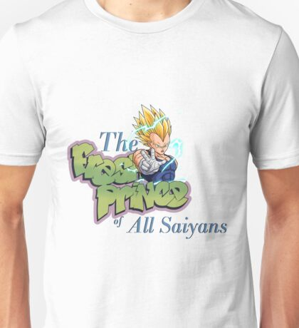 fresh prince of saiyans Unisex T-Shirt