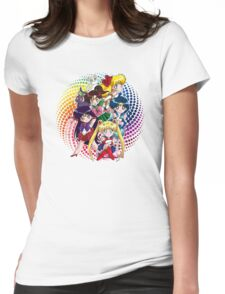 Sailor moon - Chibi Candy Edit. (White) Womens Fitted T-Shirt
