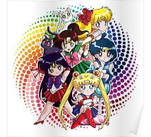 Sailor moon - Chibi Candy Edit. (White) Poster