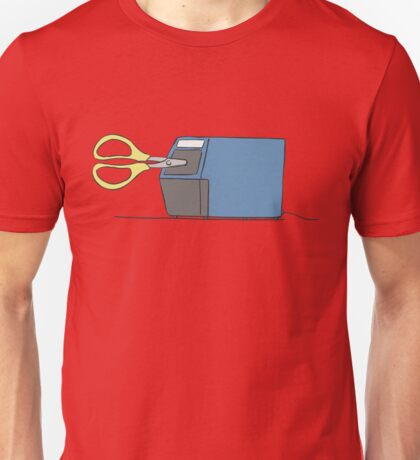 Subtle Anime - Nichijou - Scissors Unisex T-Shirt