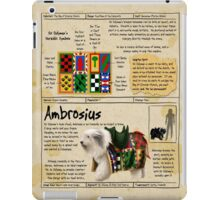 Practical Visitor's Guide to the Labyrinth - Ambrosius iPad Case/Skin