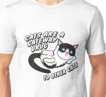 Cats Are A Gateway Drug To Other Cats Unisex T-Shirt