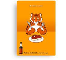 Hendo's - Marvellous on Meat Canvas Print