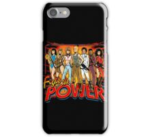 SuperWomen of the 80s - Fight The Power! iPhone Case/Skin