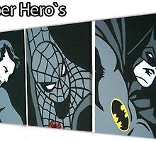 classic superhero`s by studiohans