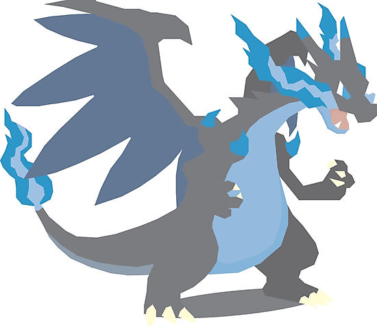 Charizard Mega Evolution - Pokemon X by CrumpetKing