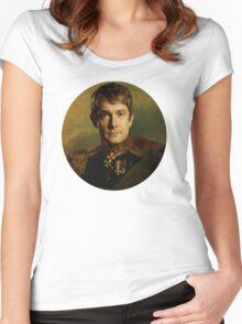 Soldier John Watson Women's Fitted Scoop T-Shirt
