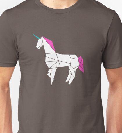 Geometric Unicorn Unisex T-Shirt