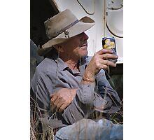 A Bundy Rum Smoko Photographic Print