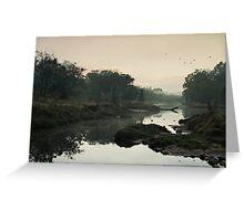 The Fog of Dawn Greeting Card