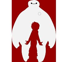 Baymax and Hiro Photographic Print