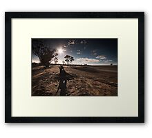 Road to Wyalkatchem: Part 2 Framed Print