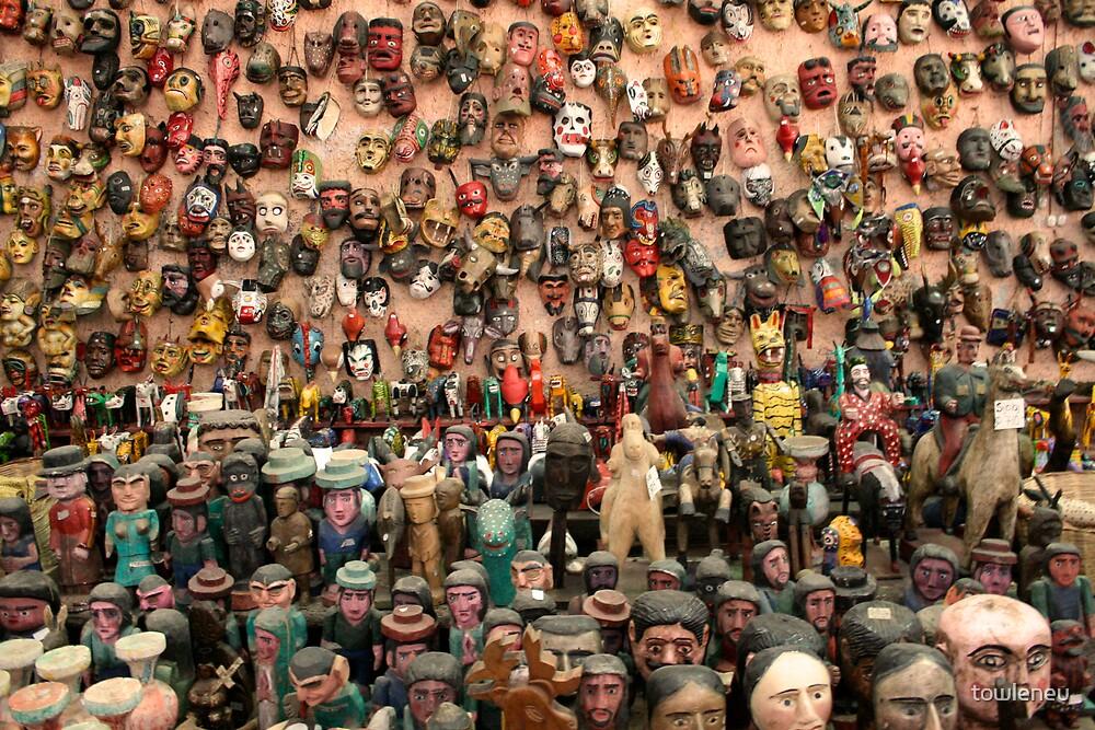 gringo tourist mask by towleneu