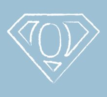 Q letter in Superman style Kids Clothes