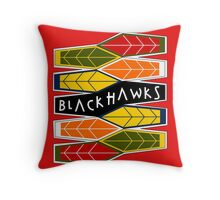 Deco: Dark Colours Throw Pillow