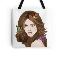 Beautiful Hair Girl 2 Tote Bag