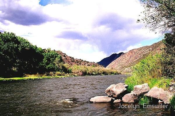 Chama River by Jocelyn  Emswiler