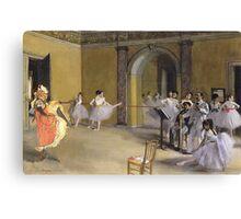 Mixed masters-Jane Avril at the Opera Canvas Print