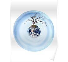 One Tree Earth Poster