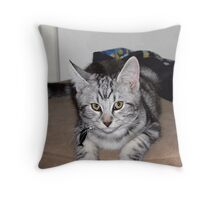 I will keeeeel you now Throw Pillow