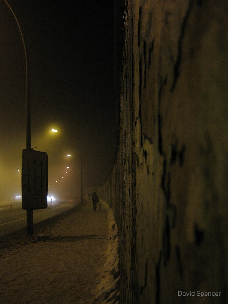 Berlin Wall by David Spencer