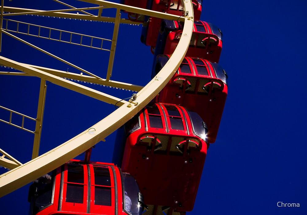 Red Gondolas by Chroma