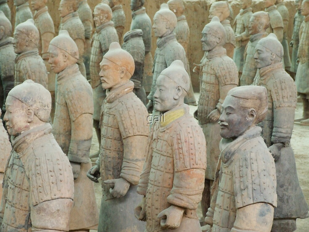Terracotta Army by gail