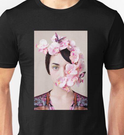 Orchid Mask Unisex T-Shirt