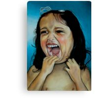 Crying Canvas Print