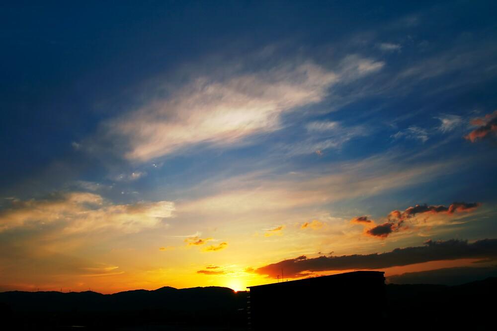 Fire Sky by Vittorio Zumpano