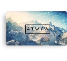 ATWYW - Heavy Chance of Snow Canvas Print
