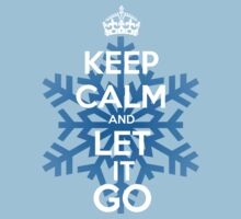 Keep Calm and Let it Go Kids Clothes