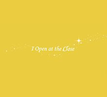 I Open at the Close by emmadoggett