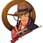 Tf2 Sniper by TornadoTwist