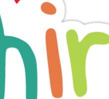 I Heart My Third Graders Teacher Love Sticker