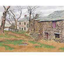 Cam Houses, North Yorkshire Photographic Print