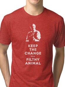 Home Alone - Keep the Change You Filthy Animal Tri-blend T-Shirt