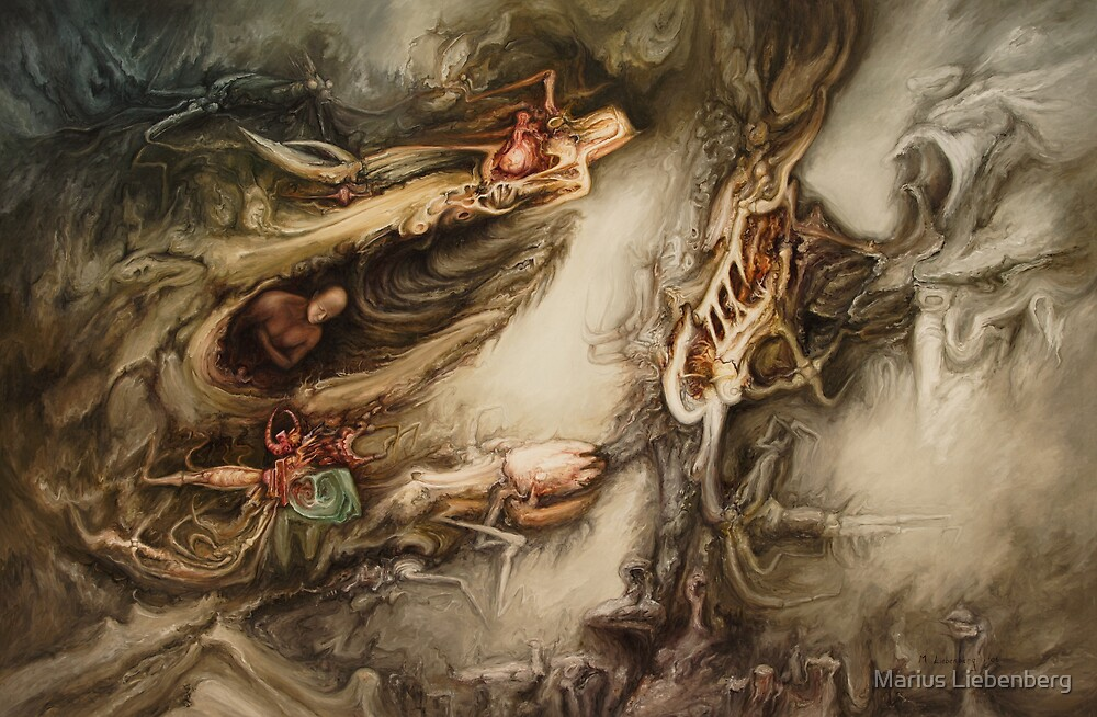 Alienation by Marius Liebenberg