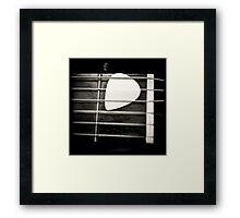 Nylon Framed Print