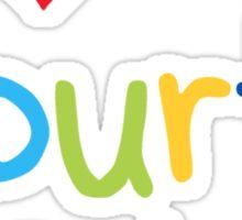 I Heart My Fourth Graders Teacher Love Sticker