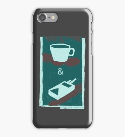 coffee and cigarettes iPhone Case/Skin
