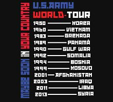 U.S.Army World Tour (BLACK!)  Unisex T-Shirt