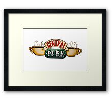 Central Perk Framed Print