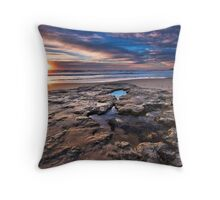 Port Noarlunga Sunset Throw Pillow