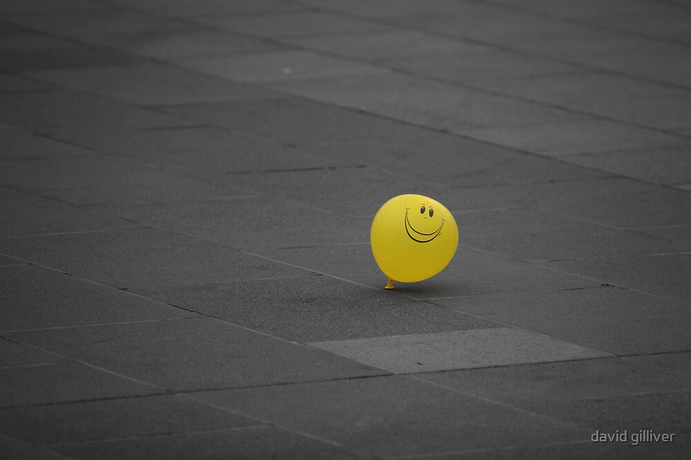 lonely, but optimistic by david gilliver