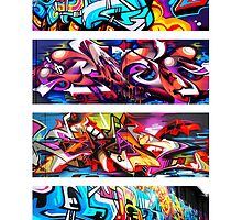 Graffitee'd (White) by ClemDeez
