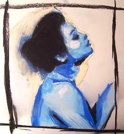 Blue Girl by Melissa Jayne Curtis